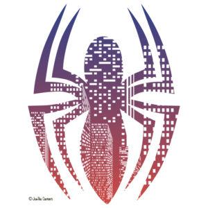 Spider Man poster illustration.
