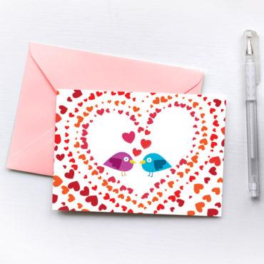 Love Card Birds