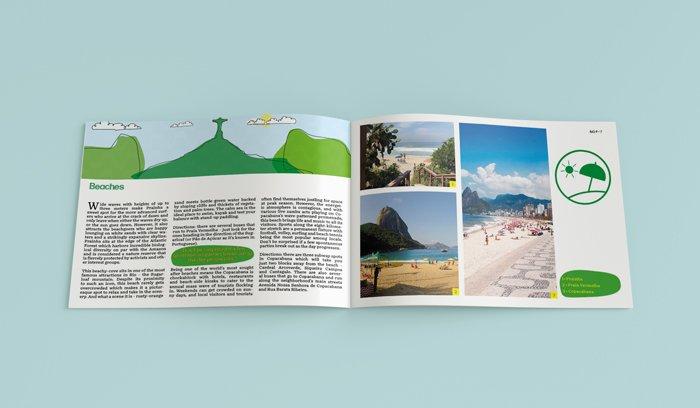rio brochure design