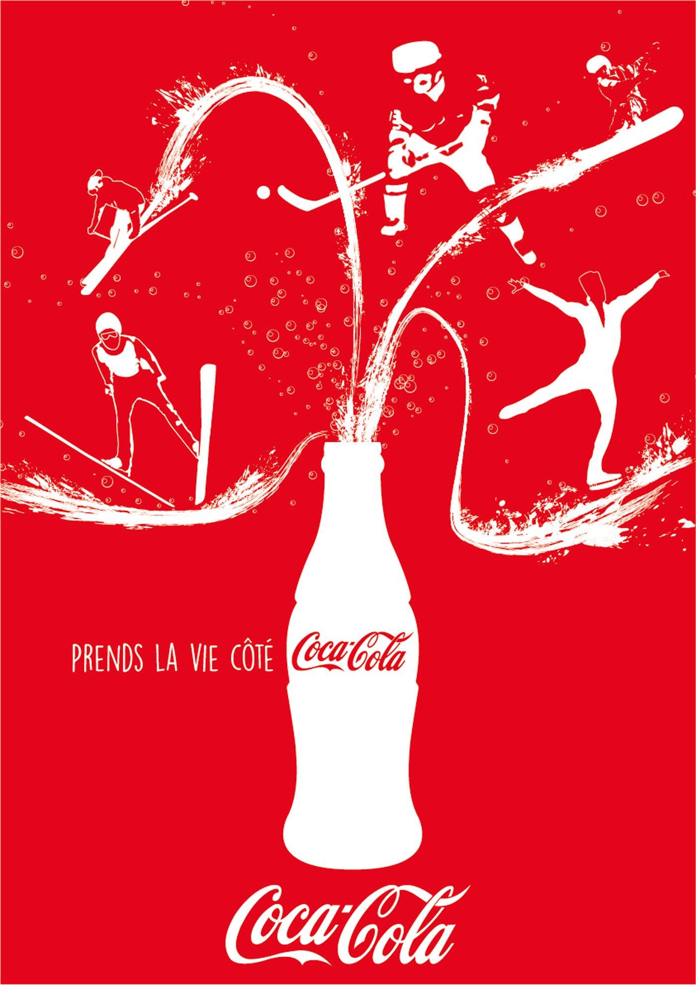 Prends la vie côté Coca-Cola